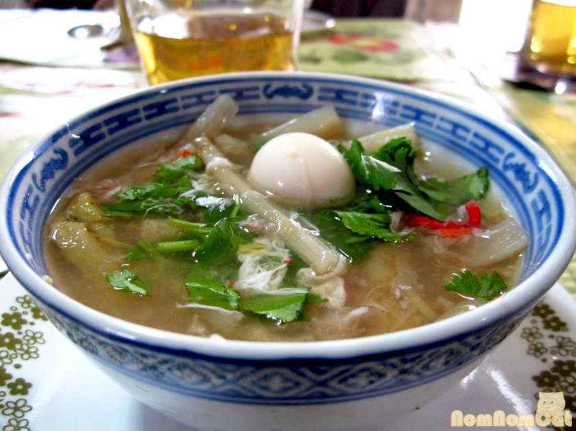 Sup Mang Cua (Vietnamese Crab & Asparagus Soup)