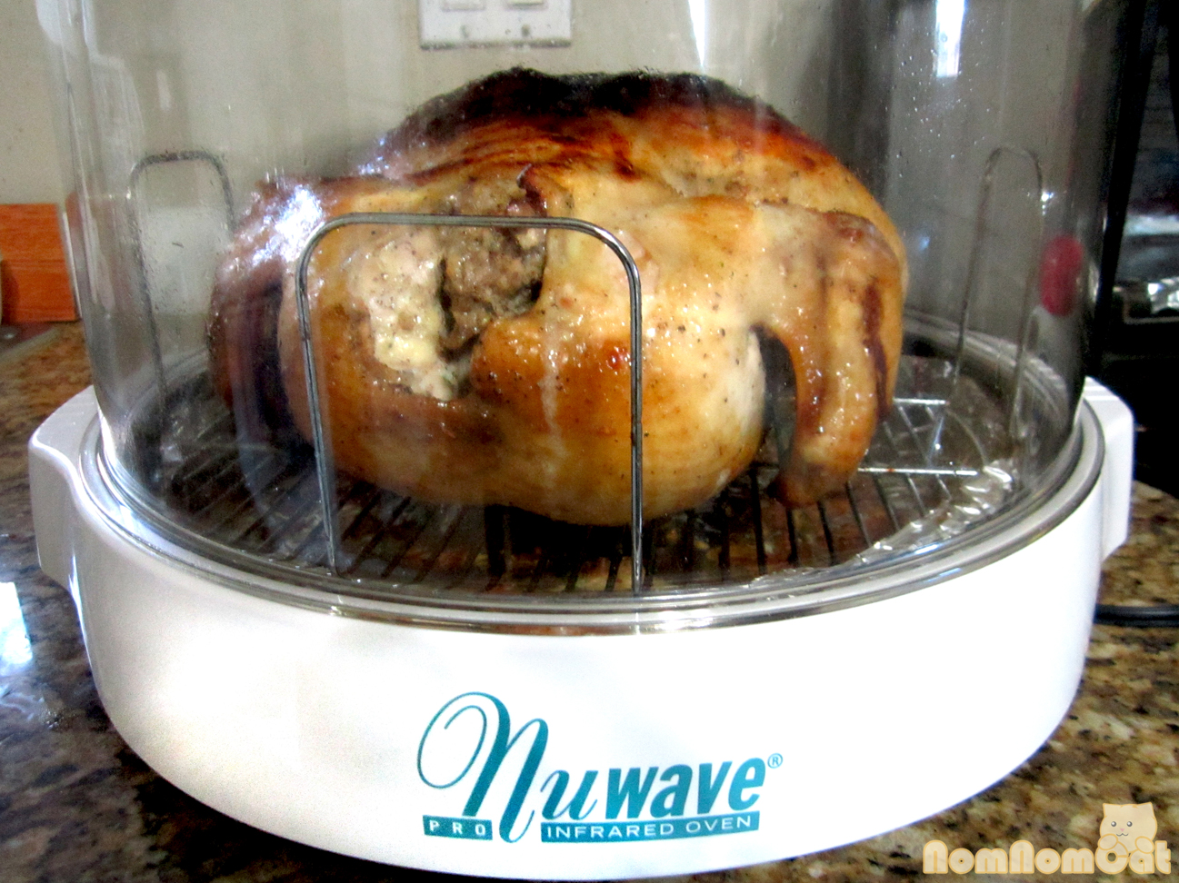 how to cook a frozen turkey in the nuwave oven
