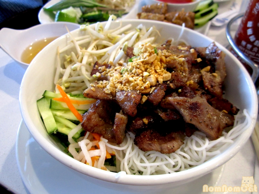 Charbroiled Pork with Vermicelli (Bún Thit Nướng)