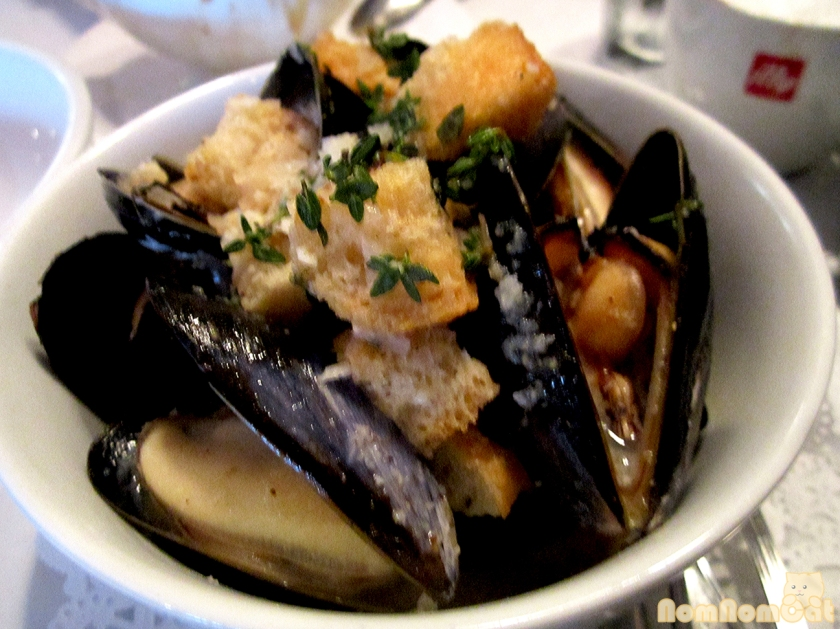 Moules Marinieres at Meet in Paris