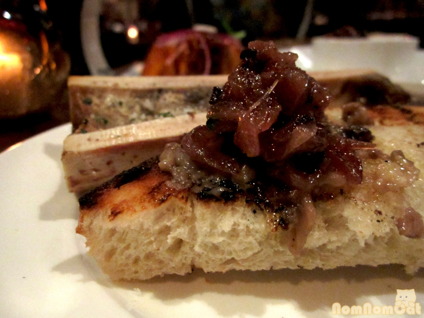 Roasted Bone Marrow - piling it on high