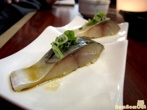 Spanish Mackerel - a fishy, oily bite to end our meal